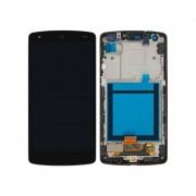 Tela Frontal LG D820 D821 Nexus 5 c/ aro Preto