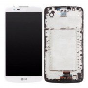 Tela Frontal LG K10 K430 s/ Escrita s/ Ci c/ aro Branco