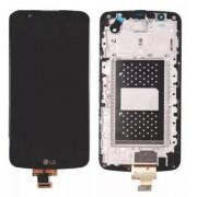 Tela Frontal LG K10 K430 s/ Escrita s/ Ci c/ aro Preto