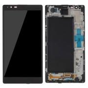 Tela Frontal LG K240 X Max c/ aro Preto