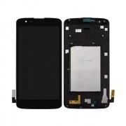 Tela Frontal LG K8 K350 c/ aro Preto