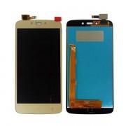 Tela Frontal Motorola Moto C Plus XT1724 XT1726 Dourada