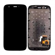 Tela Frontal Motorola Moto G1 XT1032 XT1033 c/ aro Preto