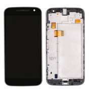 Tela Frontal Motorola Moto G4 XT1622 XT1626 Preto