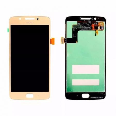 Tela Frontal Motorola Moto G5 XT1672 Dourado
