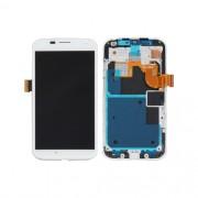 Tela Frontal Motorola Moto X XT1056 XT1058 XT1060 c/ aro Branco