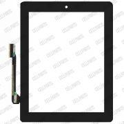 Touch iPad 3 / 4  c/ Botão Home Preto