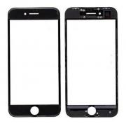 Vidro iPhone 6 Plus A1522 A1524 A1593 Preto c/ Aro
