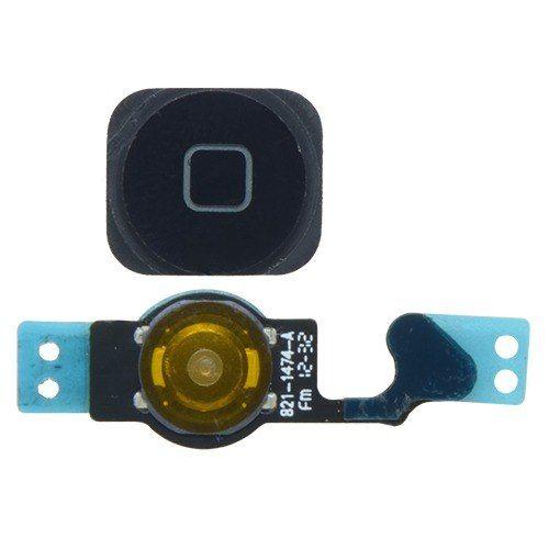 Cabo Flex Apple Iphone 5 5g - Botão Home Preto Original