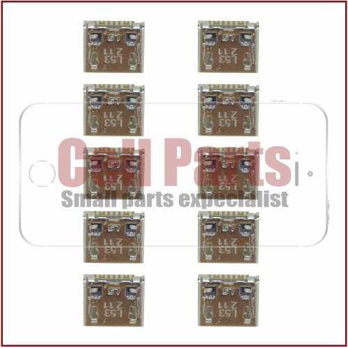 Conector Carga Usb Samsung S7390 S7392 G130 Original - 10 Pc