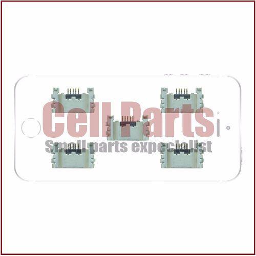 Conector Carga Sony Xperia T2 Ultra D5303 D5306 D5322 - 5 Pc
