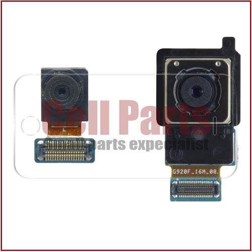 44b0379e517 Cabo Flex Samsung G920 S6 Camera Traseira + Camera Frontal