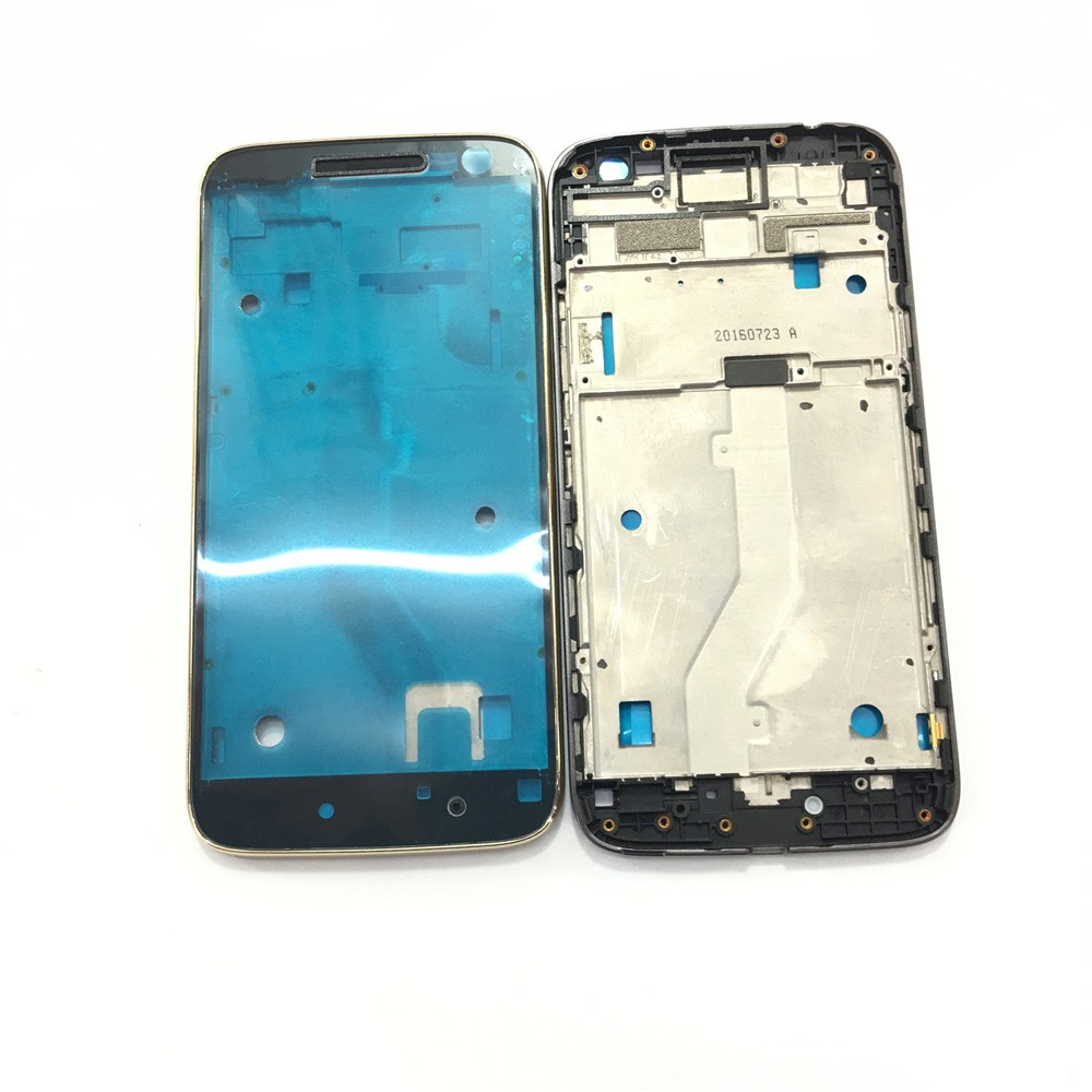 Aro Moldura LCD Motorola Moto G4 Play XT1600 Prata