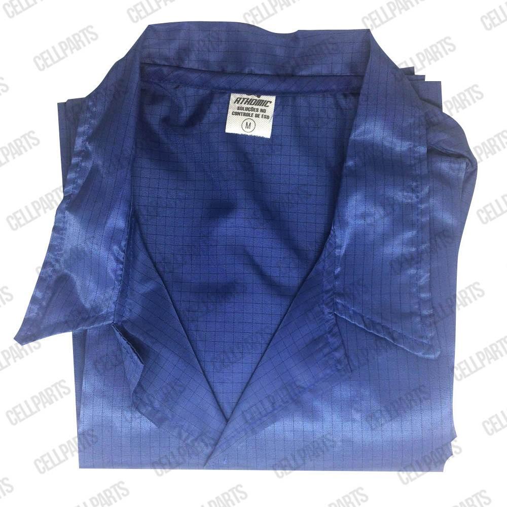 Avental Anti Estático Azul Royal G - Athomic