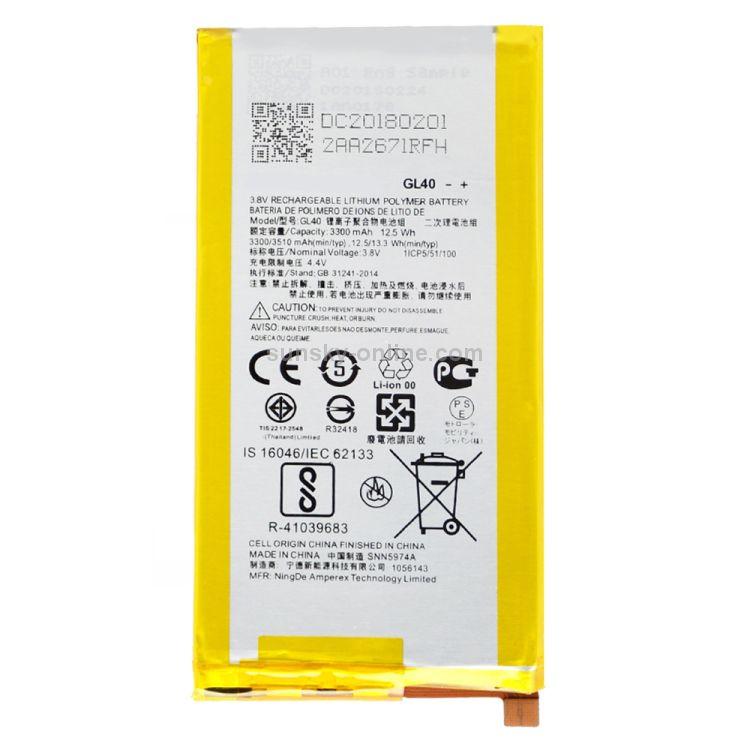 Bateria Motorola Moto Z Play XT1635 - GL40