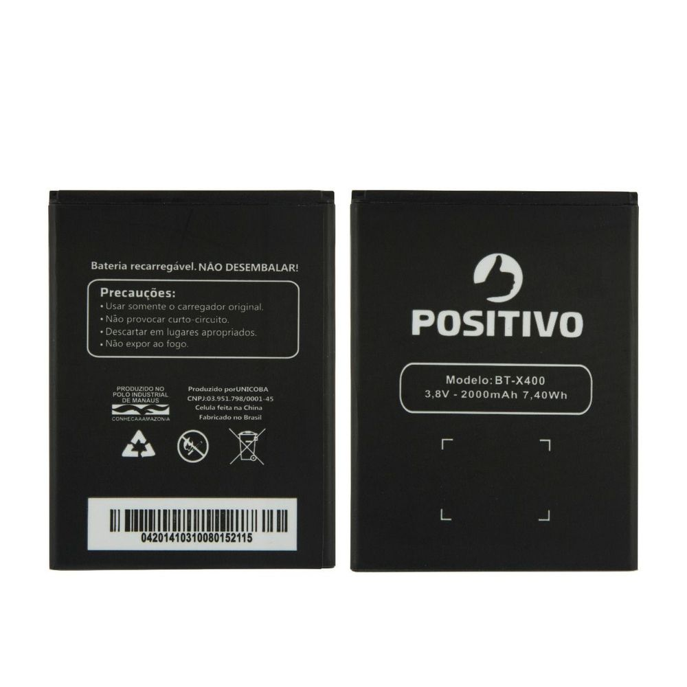 Bateria Positivo X400 BT-X400