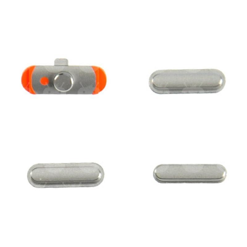 Botao Externo Power / Volume / Mute Ipad Mini / Mini 2 / Mini 3 / Air Prata
