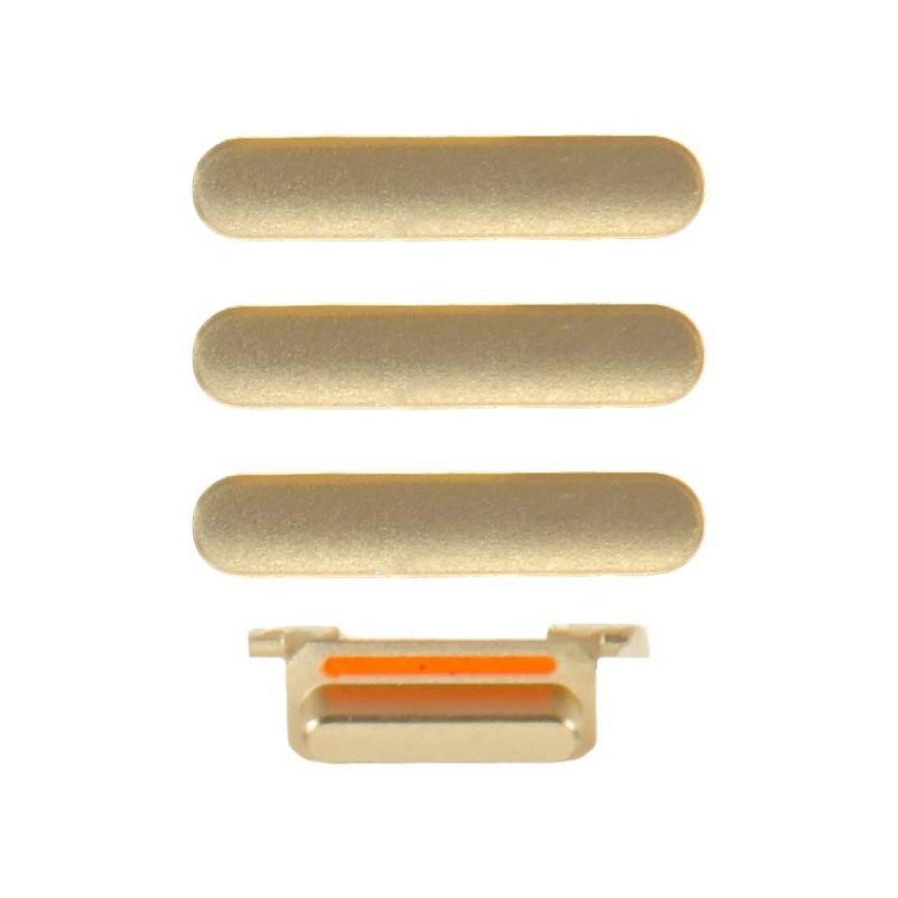 Botao Externo Power + volume + mute Iphone 7 Dourado