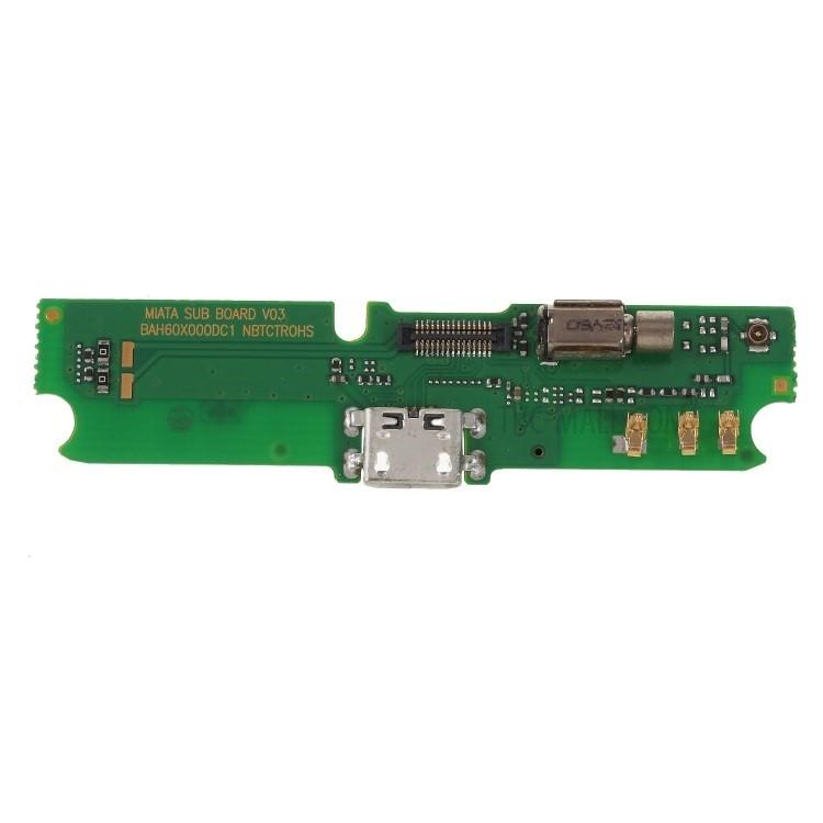 Cabo Flex Alcatel 6036 Idol 2 Mini Conector Carga / Microfone / Vibra