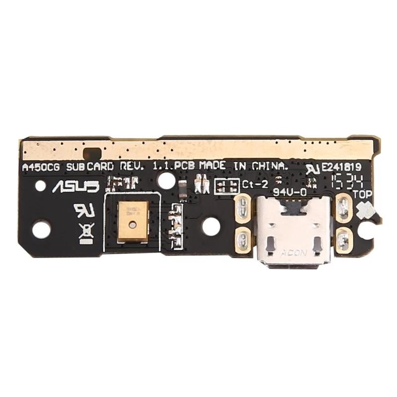 Cabo Flex Asus Zenfone 4 A450CG Conector Carga e Microfone