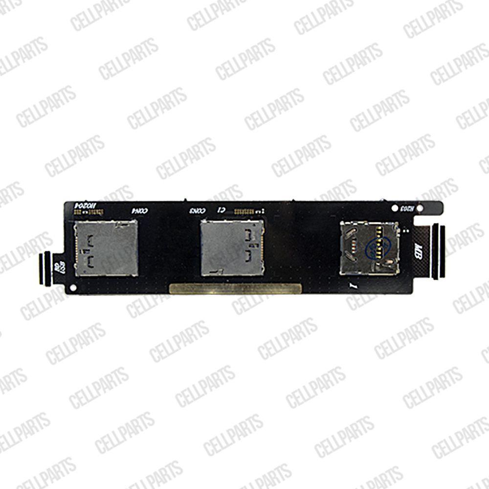 Cabo Flex Asus Zenfone 6 A600 A601 Leitor de Sim Card
