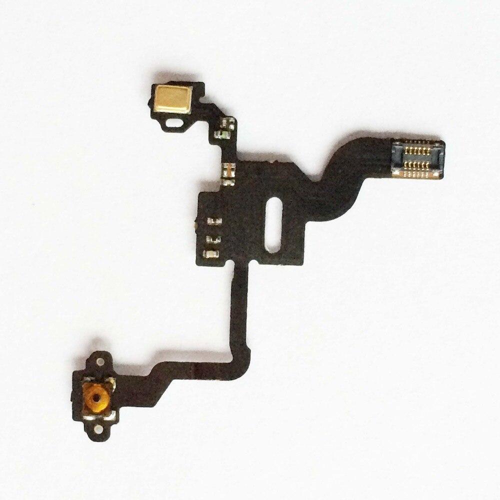 Cabo Flex iPhone 4G A1349 A1332 Botão Power e Sensor de Proximidade