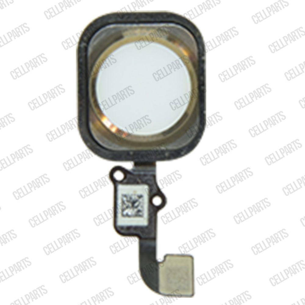 Cabo Flex iPhone 6 Plus Botão Home Dourado