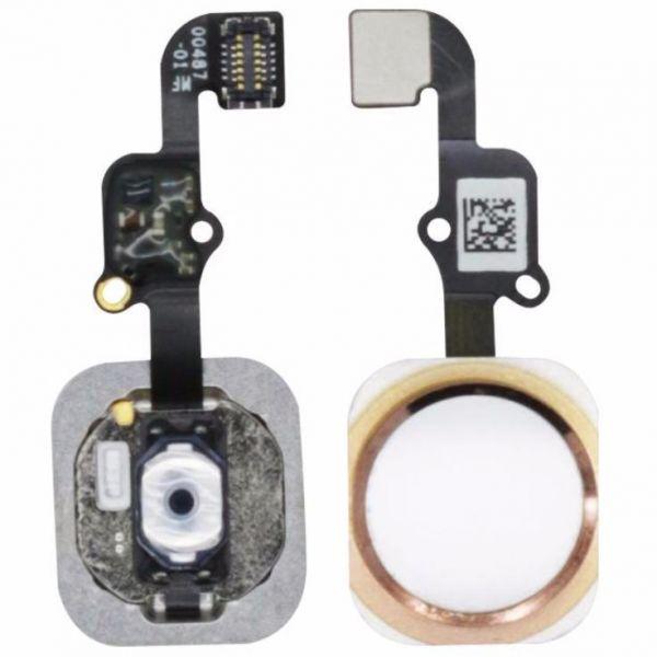 Cabo Flex iPhone 6G A1549 A1586 A1589 Botão Menu Home Dourado