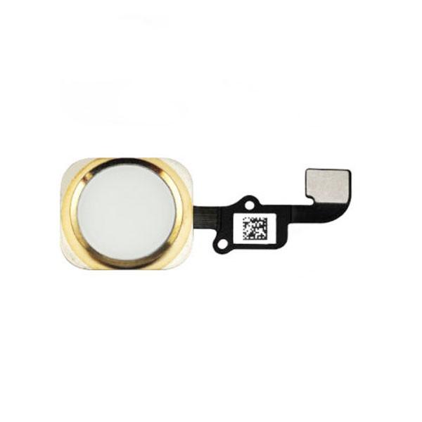 Cabo Flex iPhone 6S A1633 A1688 A1700 Botão Home Dourado
