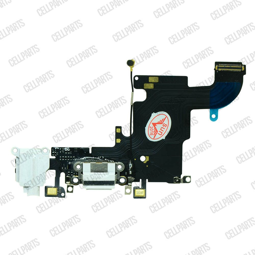 Cabo Flex iPhone 6S Conector Carga e Microfone Branco