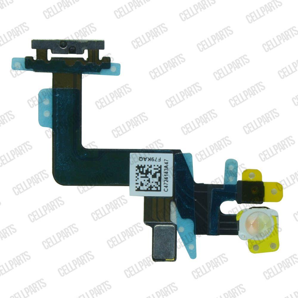 Cabo Flex iPhone 6S Plus Botão Power Microfone e Flash