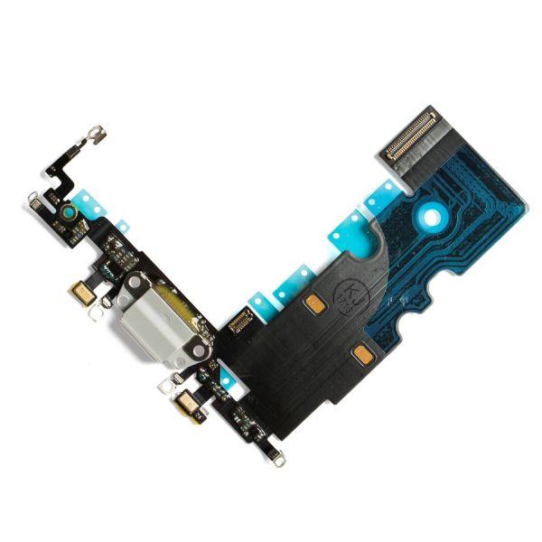 Cabo Flex iPhone 8G A1863 A1905 A1906 Microfone / Carga Branco