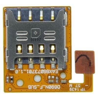 Cabo Flex LG D690 G3 Stylus Leitor De Sim Card