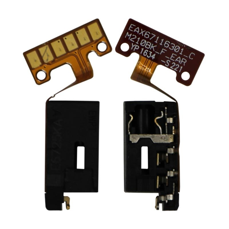 Cabo Flex LG K10 2017 M250 / K10 Power M320 conector Fone P2