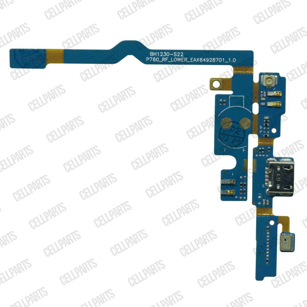 Cabo Flex LG L9 P760 P765 P768 Conector Carga e Microfone
