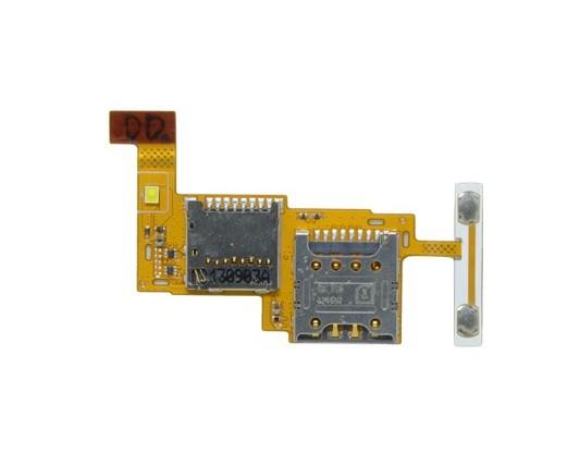 Cabo Flex LG P655 F3 Leitor Sim Card