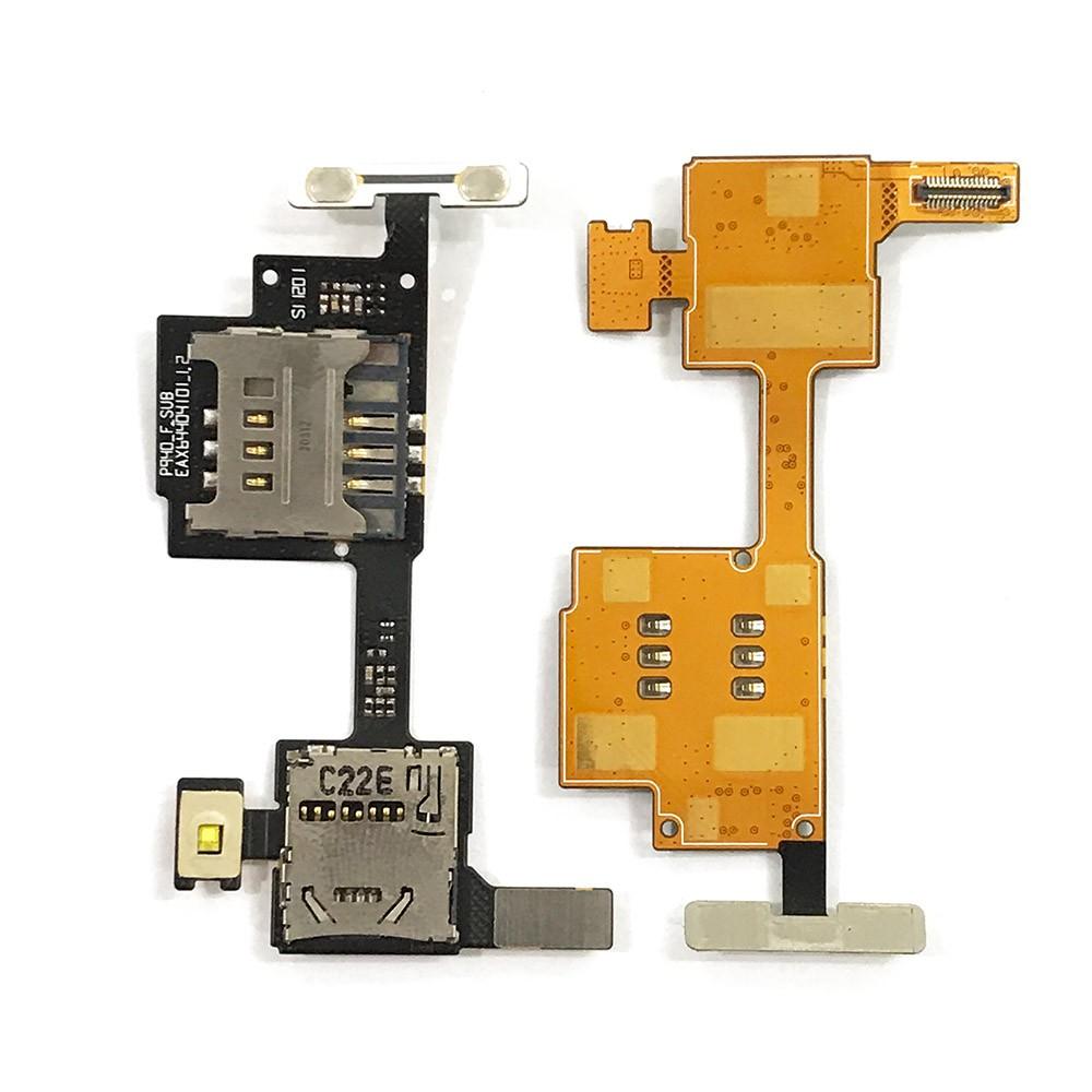 Cabo Flex LG P940 Prada Leitor Sim Card