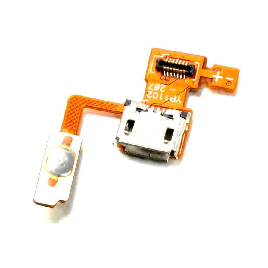 Cabo Flex LG P970 Optimus Black Conector Carga e Botão Power