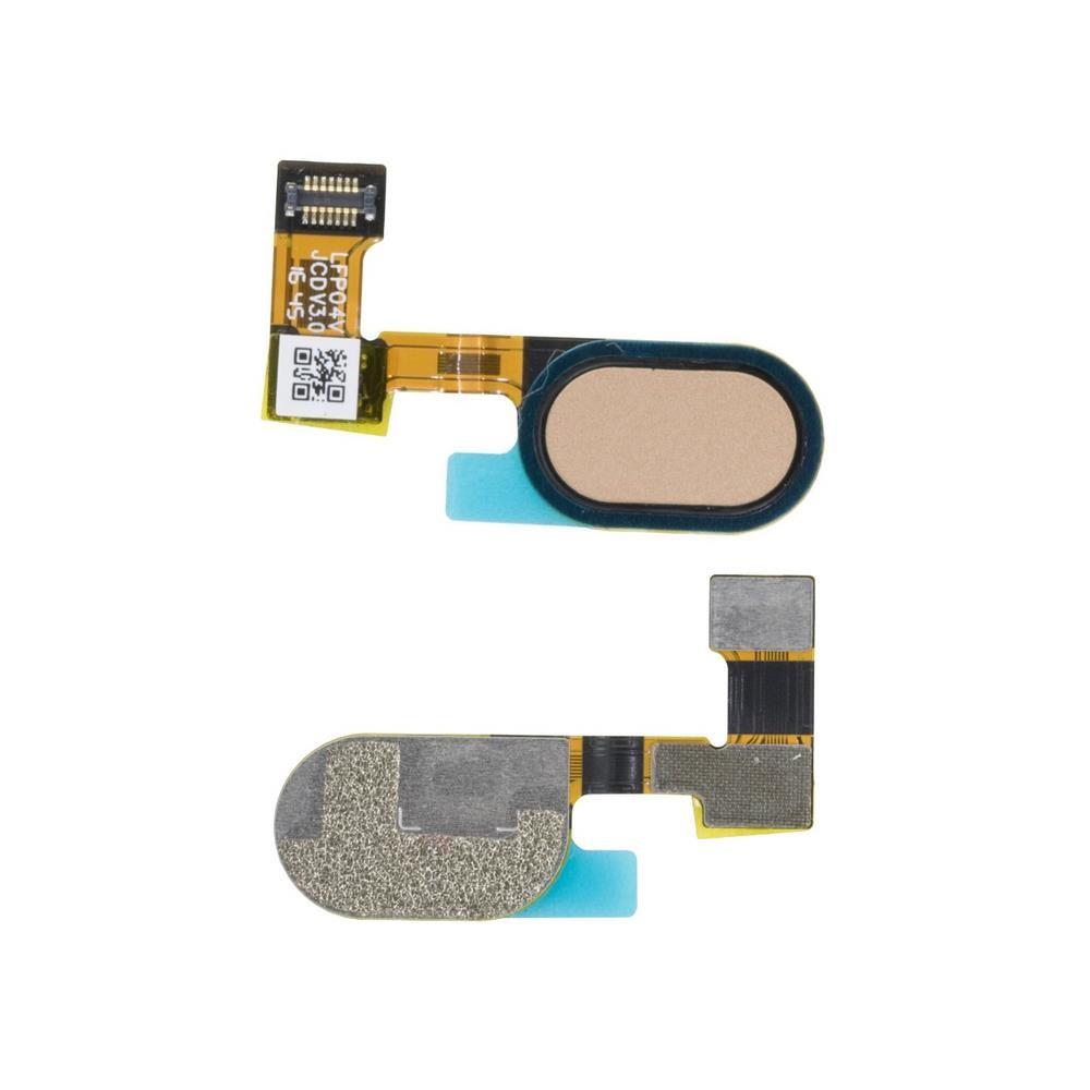 Cabo Flex Motorola Moto G5 / E4 / E4 Plus Menu Home Dourado