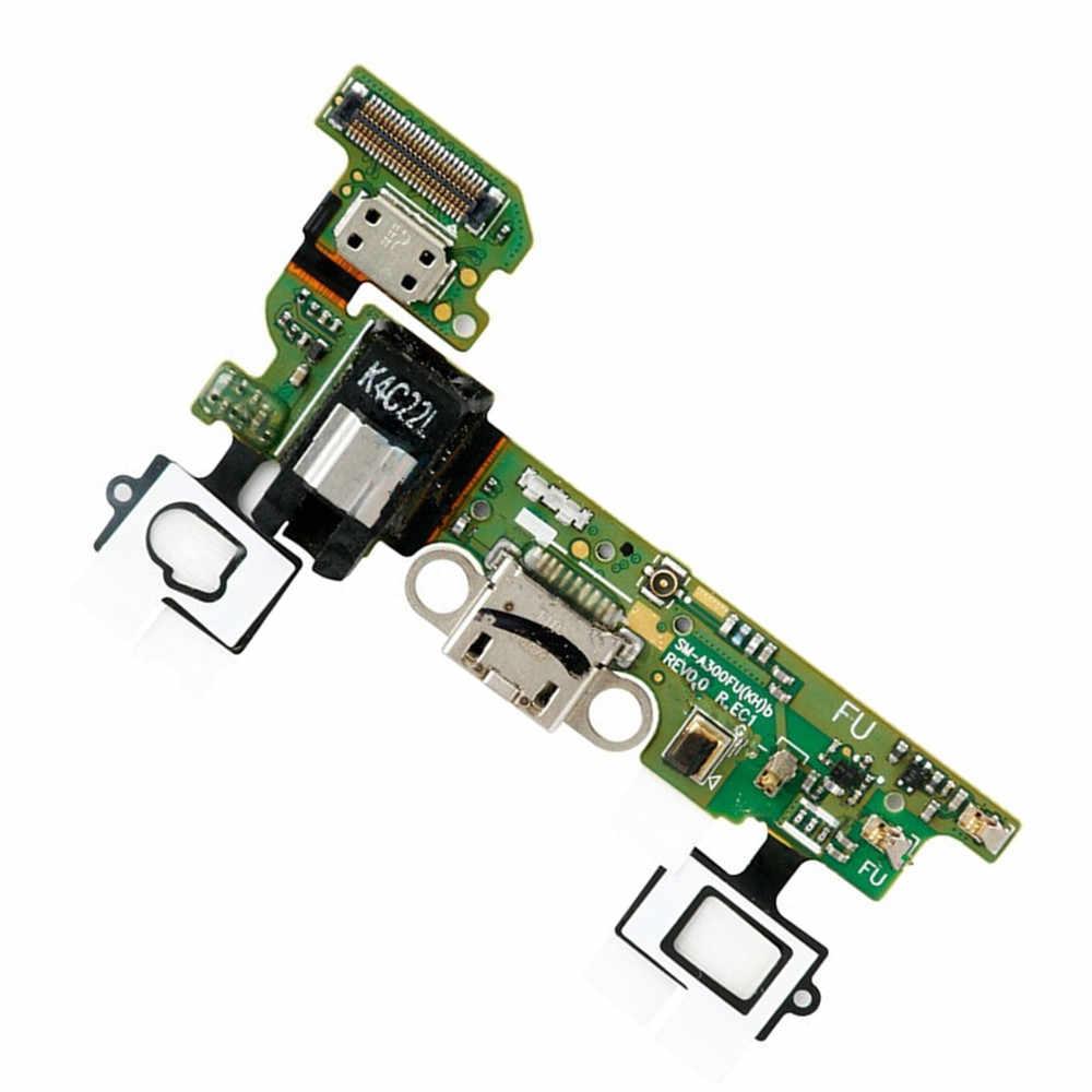 Cabo Flex Samsung A300 A3 Conector Carga Versão F