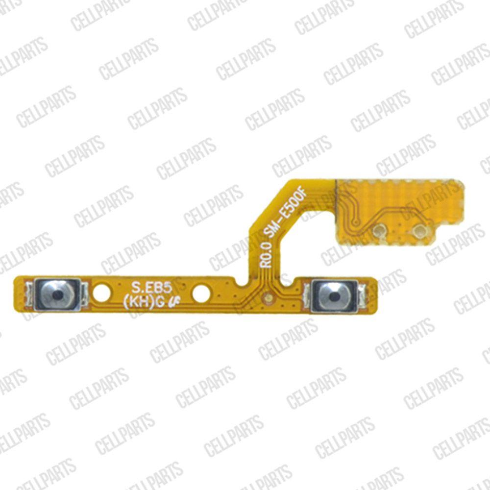 Cabo Flex Samsung E500 E5 Botão Volume