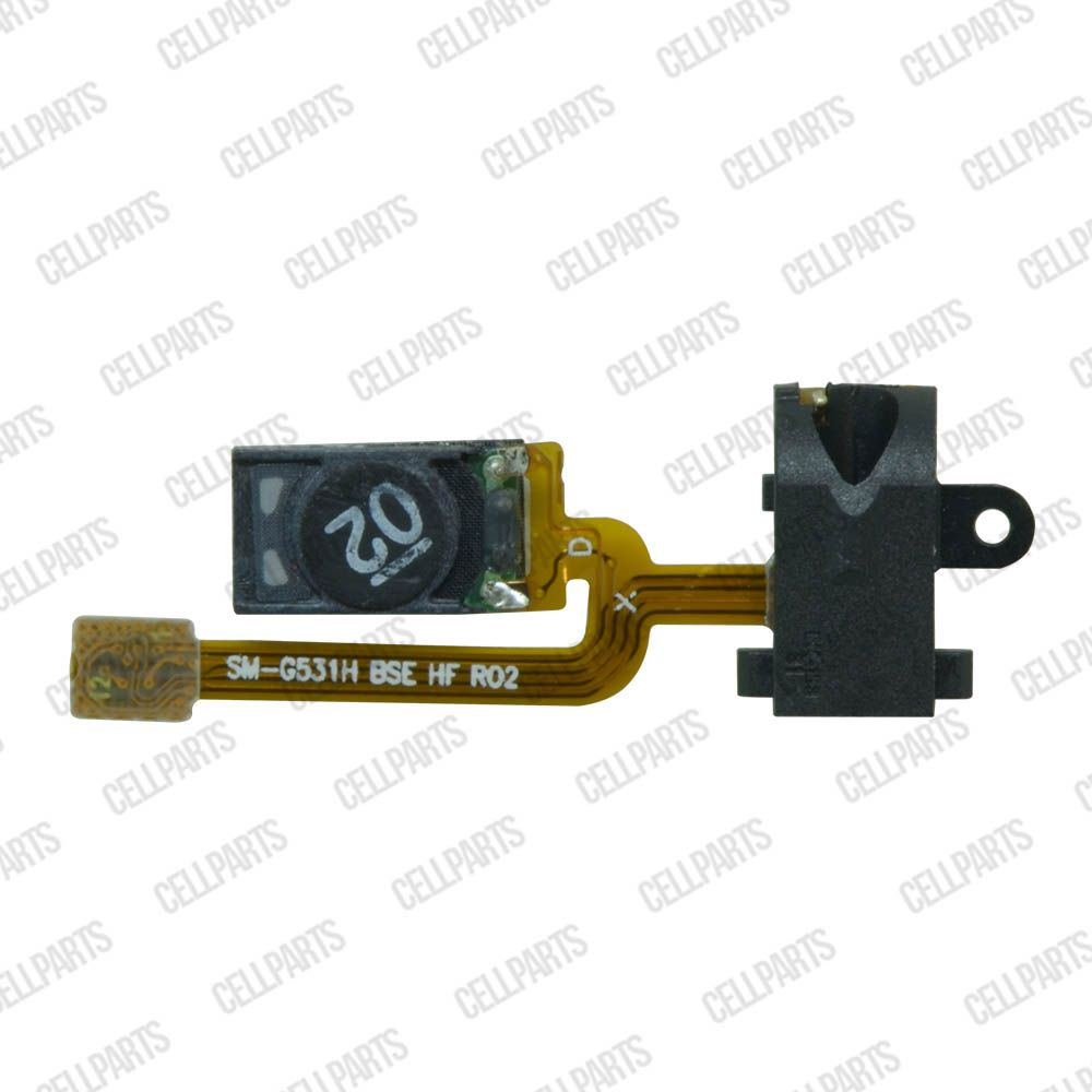 Cabo Flex Samsung G531 Gran Prime Alto Falante e Conector Fone P2