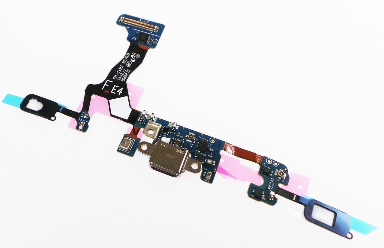 Cabo Flex Samsung G935 S7 Edge Conector Carga Versão F