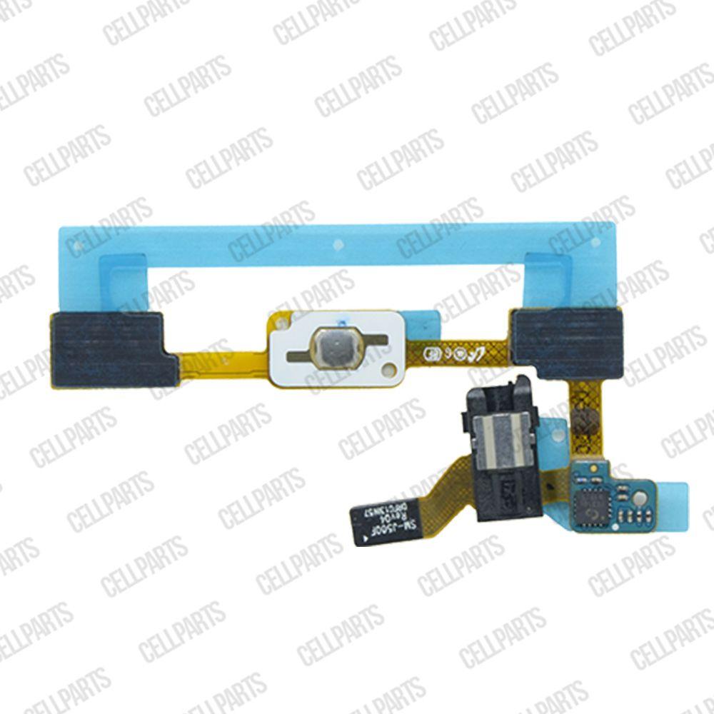 Cabo Flex Samsung J500 J5 Botão Menu Home e Conector Fone P2