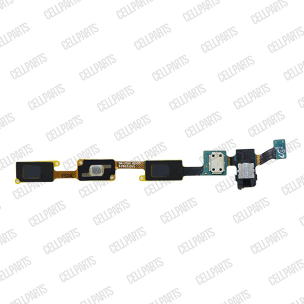 Cabo Flex Samsung J700 J7 Botão Menu Home e Conector Fone P2