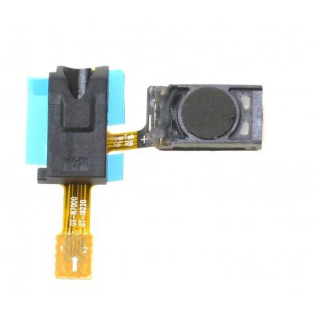 Cabo Flex Samsung N7000 Note 1 Alto Falante e Conector Fone P2