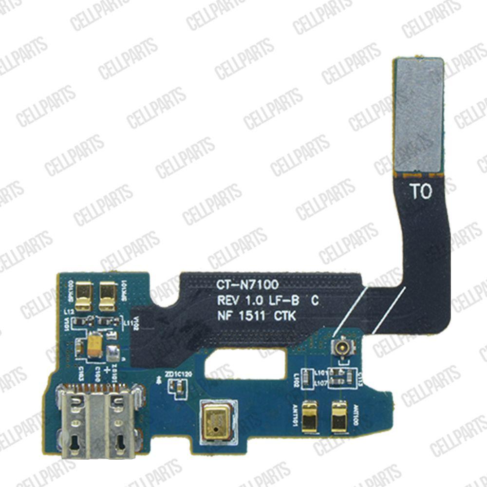 Cabo Flex Samsung N7100 Note 2 Conector Carga