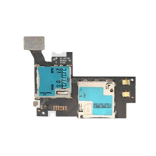 Cabo Flex Samsung N7100 Note 2 Sim Card / Memoria