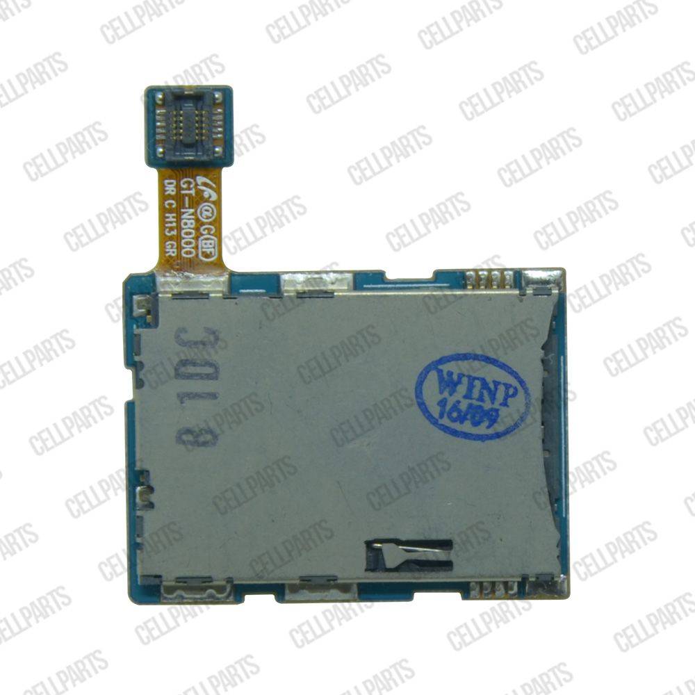 Cabo Flex Samsung N8000 Leitor Sim Card