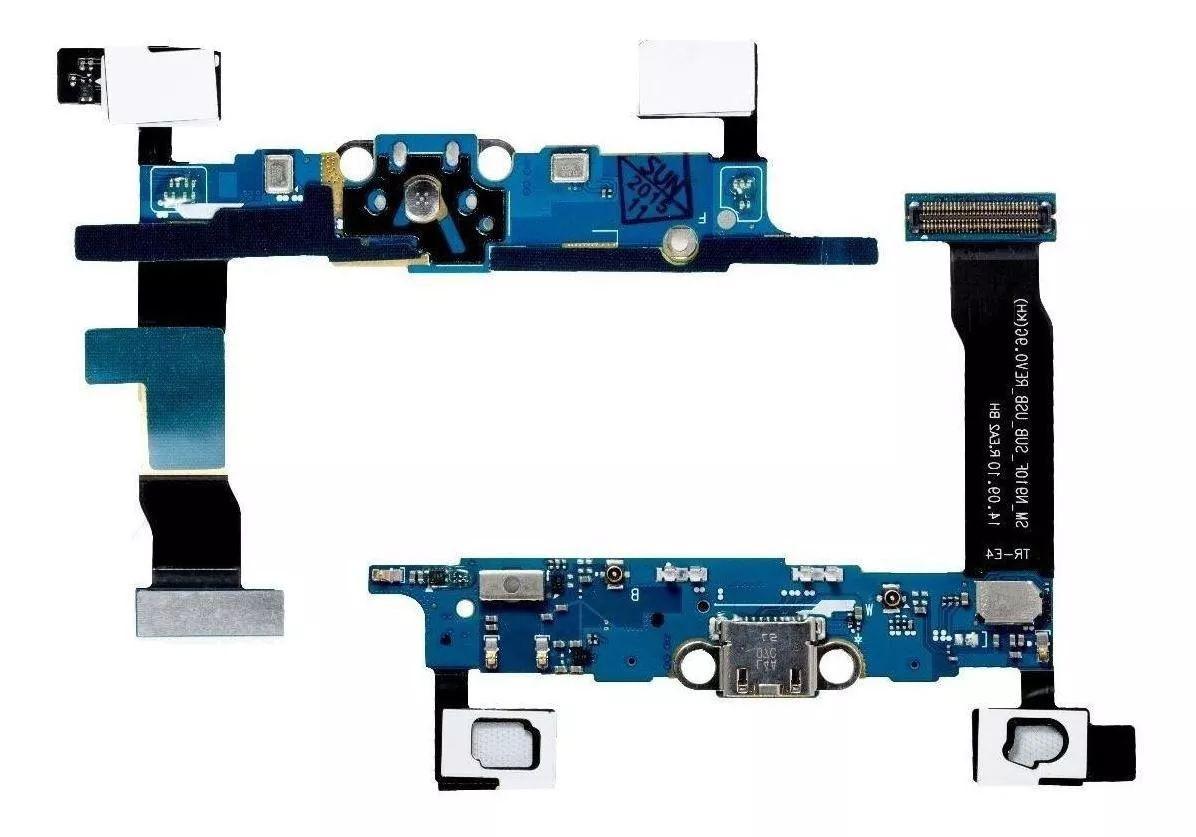 Cabo Flex Samsung N910F Note 4 Conector Carga / Microfone